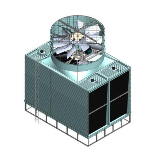 一种同轴双风机冷却塔