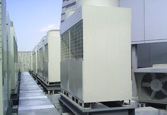 中央空调机组降噪方法