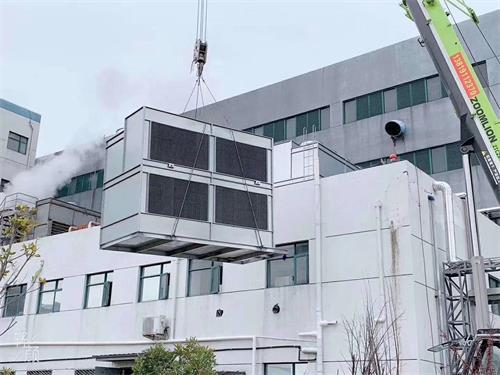 逆流式冷却塔施工安装注意事项
