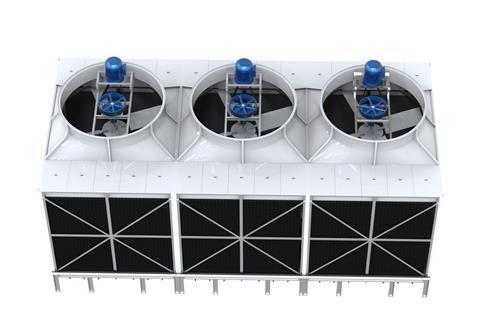 横流式方形冷却塔的结构特点有哪些