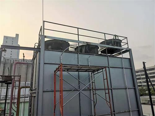 冷却塔用水流量的估算方法