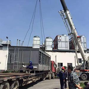 闭式冷却塔在进行改造后的特点