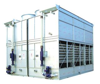 闭式冷却塔如何区分逆流、横流以及复合流