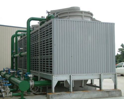 钢结构大型工业冷却塔安装