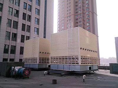 冷却塔空调施工