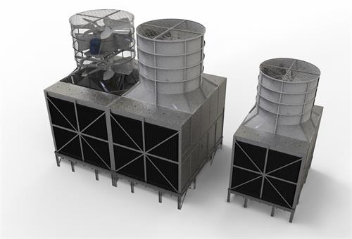 冷却塔水轮
