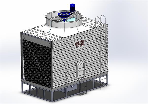 冷却塔循环水工作原理