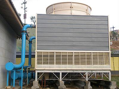 冷却塔循环水结构