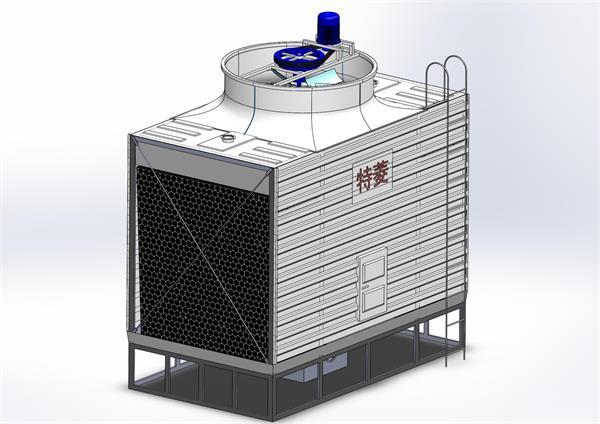 冷却塔冷凝器清洗