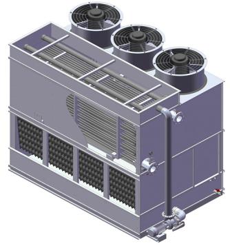 不同的冷却塔特点不同性能也各不相同