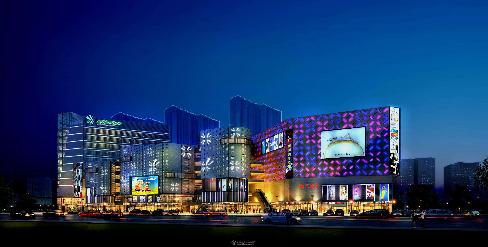 广州万丽购物广场冷却塔降噪