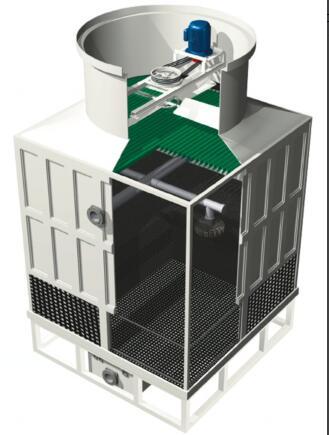 玻璃钢横流式冷却塔
