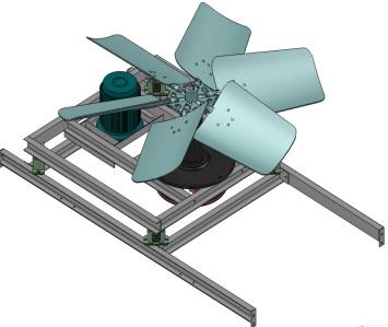 悬浮动力系统