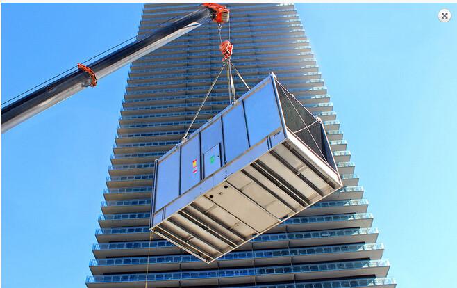 广州世贸大厦冷却塔升级改造工程
