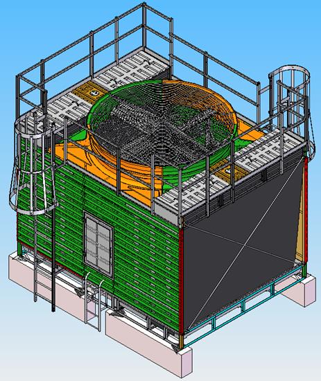 超静音冷却塔如何做