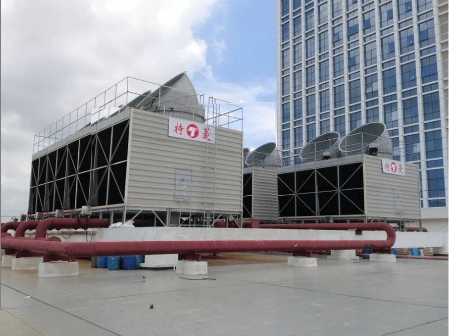 横流冷却塔拼装技术参数