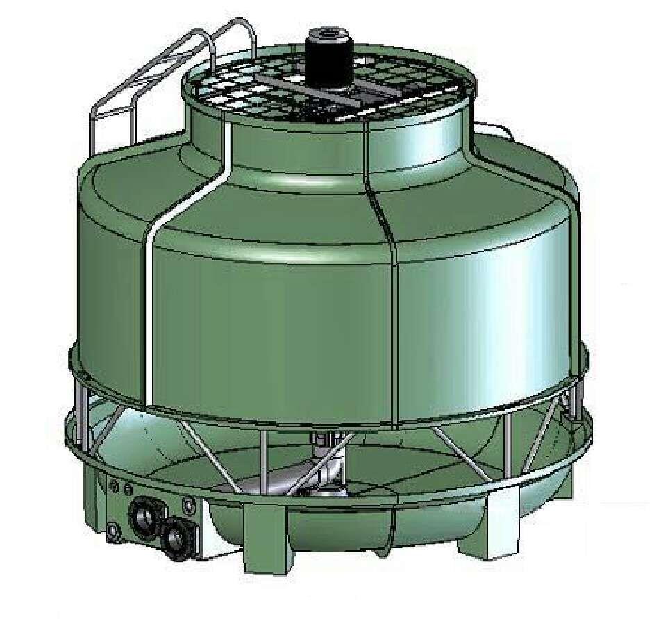 圆形冷却塔技术参数