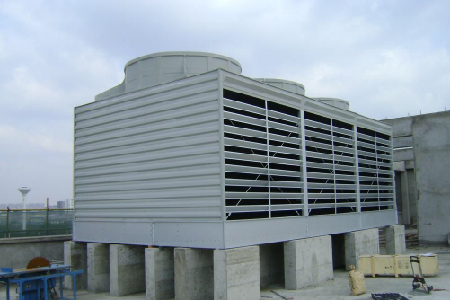 广东宏睿铸造冷却塔维修升级改造工程