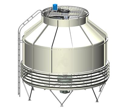 圆型冷却塔转速