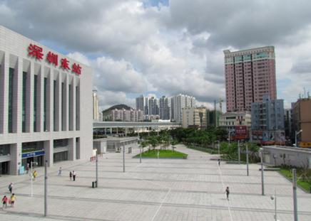 深圳东站冷却塔节能改造
